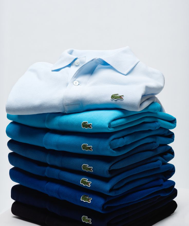 Classic Lacoste polo, wearing this French label means your always in style.