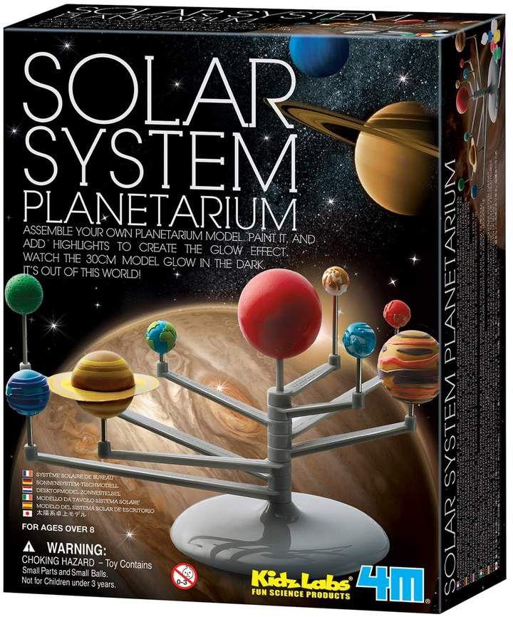 Children Educational Diy Explore Nine Planets System Planetarium Teaching Toys J