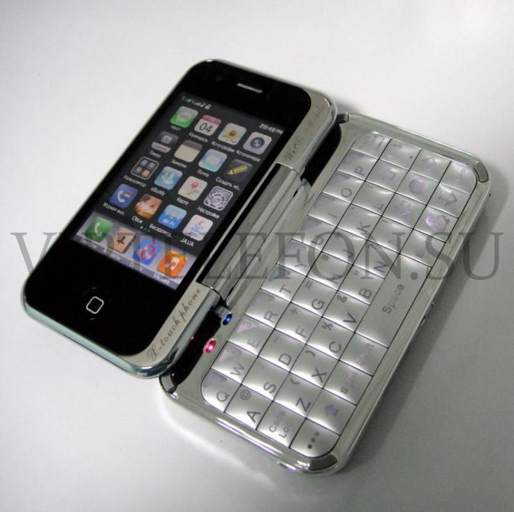 Wi-Fi iPhone Qwerty T3000, копия iPhone 3G (цветной ТВ, 2 активные сим карты, JAVA, Wi-Fi)  http://valfon.ru/catalog/Wi-Fi-iPhone-Qwerty-T3000-kopiya-iPhone-3G