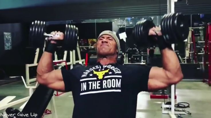 The Rock Best Chest Workout Routine - Hercules