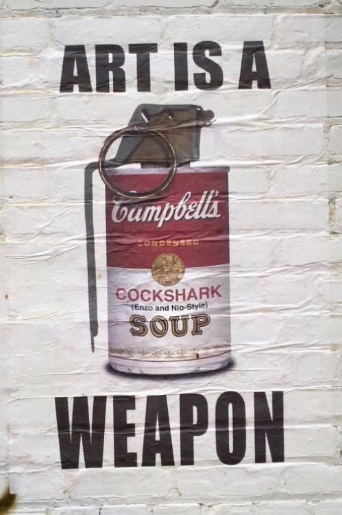 El arte es un arma