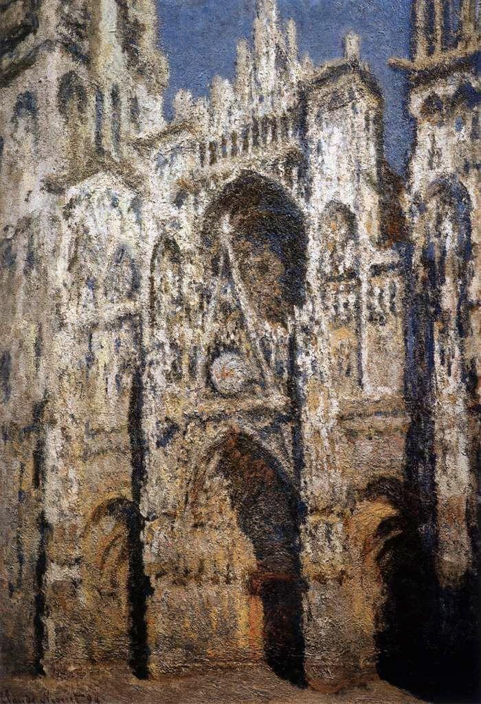 Ο καθεδρικός ναός του Ρουέν μεσημέρι (1893)