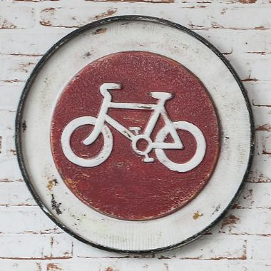 Velo Metal Wall Plaque, Set of 2 - £55 | brandinteriors.co.uk