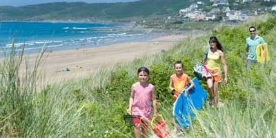 Award Winning Woolacombe Beach