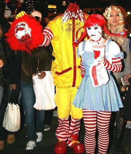 Funny and Cool Halloween Costumes 2013  sc 1 st  Pinterest & 49 best fast-food zombie images on Pinterest | Mcdonalds Ronald ...