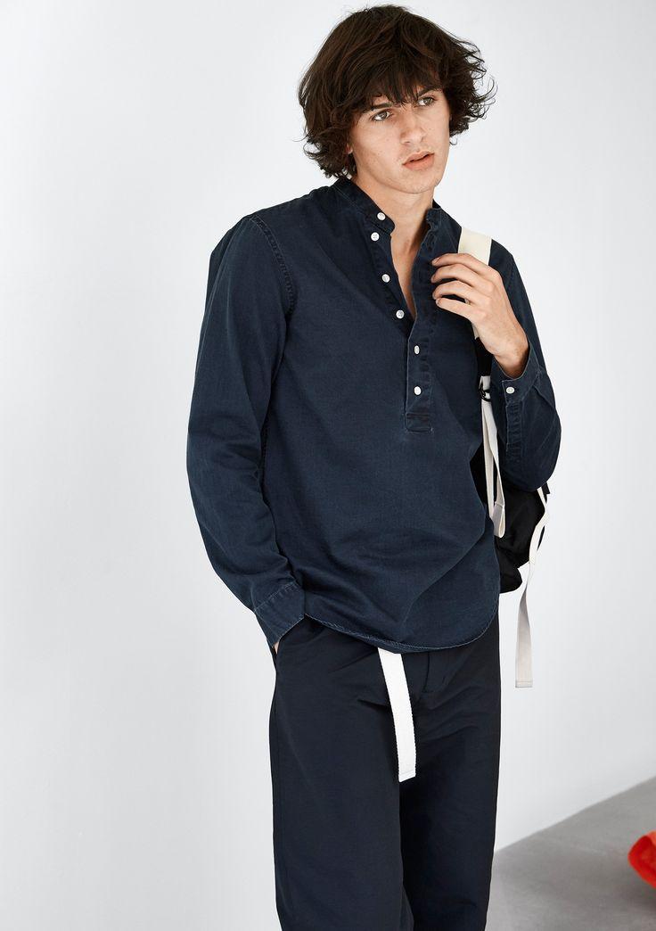 Lee Shirt - Dk Blue #HopeStockholm