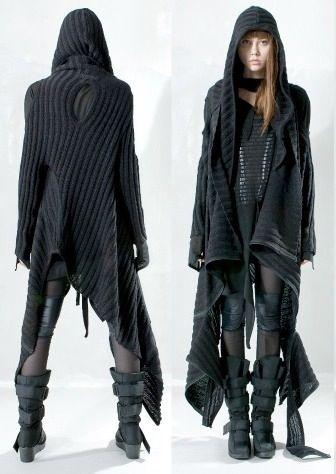 Post apocalyptic dress, by Demobaza.....apocalyptic fashion, post-apocalyptic fashion, post-apocalypse, dystopian,