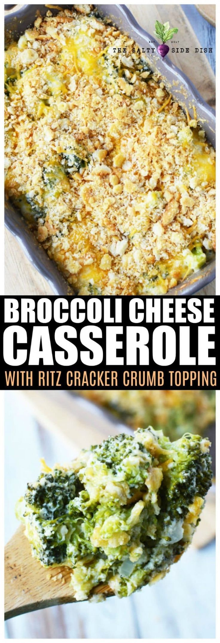 Broccoli Casserole Ultra Easy und Ultra Cheesy