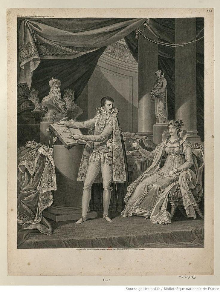 Napoléon Bonaparte présentant le code civil à l'impératrice Joséphine.jpg