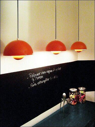 Lånt bilde fra nettet  Selger slike Panton lamper, original vintage i god  stand. 1600,-nok/ st