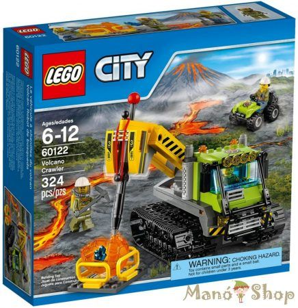 LEGO CITY Vulkánkutató lánctalpas jármű 60122