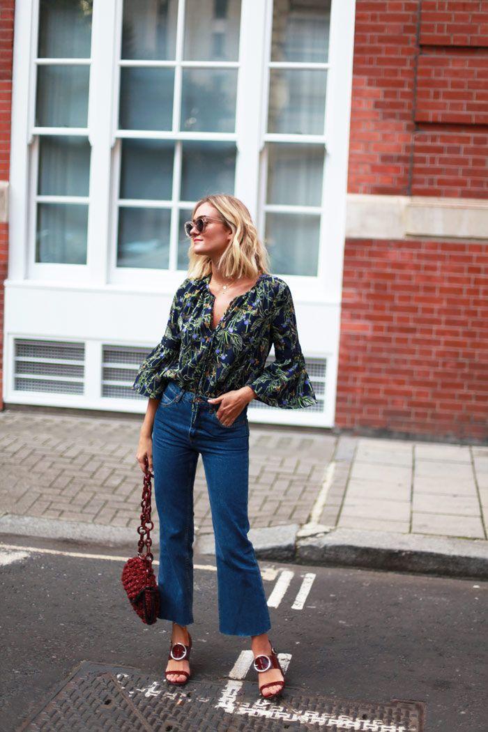 mango jeans - topshop top - MMissoni bag - Uterque heels LFW SS16