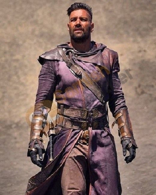 The Shannara Chronicles Manu Bennett Coat