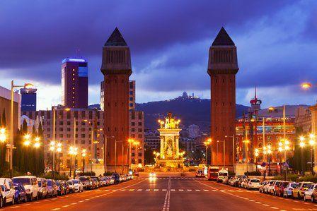 Barcelona weather in November