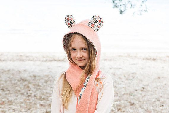Wild Things Hooded Scarf - PDF PATTERN -  Sizes Infant to Adult
