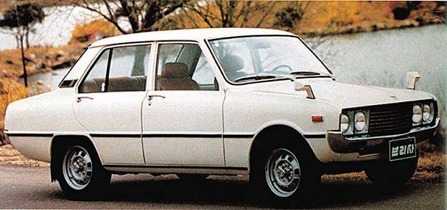 Kia Brisa 1000 (based on Mazda Familia)