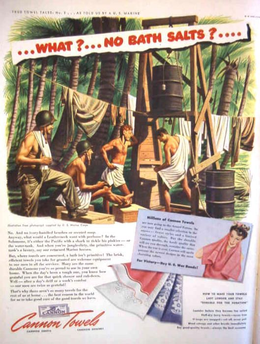Changing Perceptions of Homosexuality: WWII Ads Before Homophobia (click thru for analysis)