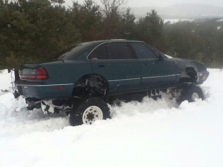 Snow or mud