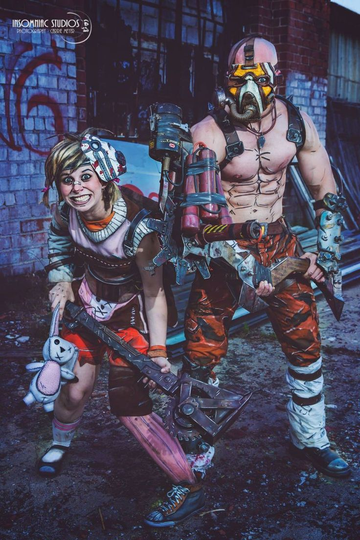 Cosplay Tales From The Borderlands  Cosplay by Thousand-Faces | Photo by Insomniac Studios This Borderlands cosplay from Thousand-Faces is just ungh. I love how theyve extended the cel-shading effect letting it run off their make-up and all the way onto the outfits themselves.  Cosplay by Thousand-Faces | Photo by Insomniac Studios  Cosplay by Thousand-Faces | Photo by Insomniac Studios   ForgeByGames  w2