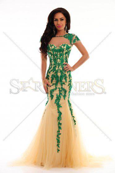 Sherri Hill 1927 Green Dress