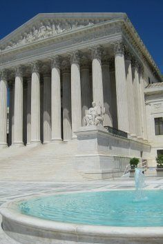 US Supreme Court in Washington DC.