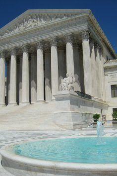 US Supreme Court in Washington DC.
