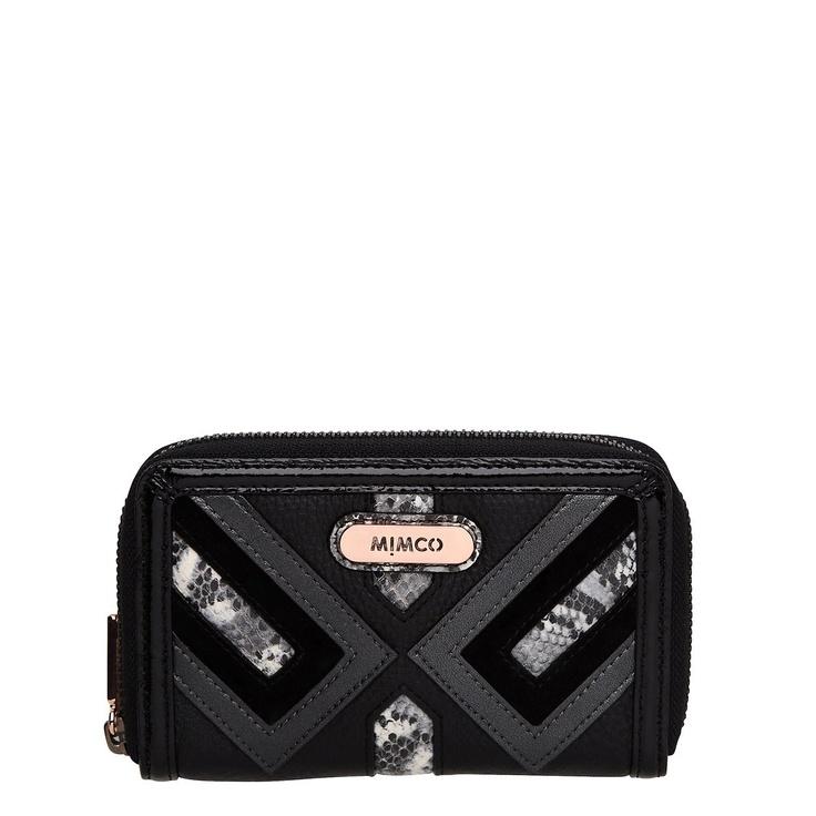 Mimco Harlequin purse