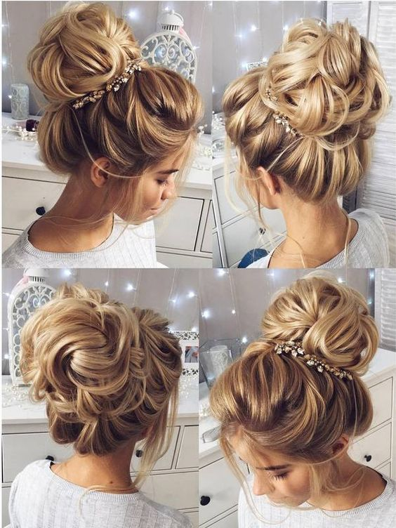 Wedding Hairstyles for Long Hair from Tonyastylist / http://www.deerpearlflowers.com/wedding-hairstyles-for-long-hair-from-tonyastylist/