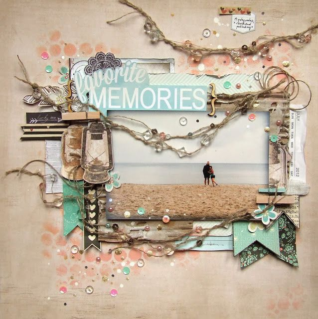 #papercraft #scrapbook #layout  Scrap Around The World: January 2014 Winner, Features, Finalists & Guest Educator Announcement!
