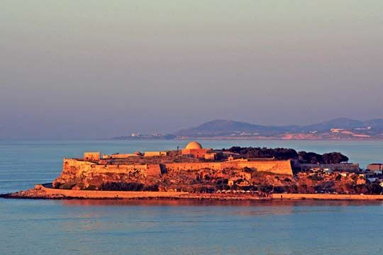 VISIT GREECE|  Rethymnon Fort, Town of #Rethymnon #Crete #Greece