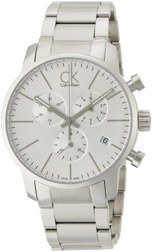 awesome Calvin Klein Men's Quartz Watch with Chronograph Quartz Stainless Steel K2G27146 just added...  Check it out at: https://buyswisswatch.co.uk/product/calvin-klein-men-s-quartz-watch-with-chronograph-quartz-stainless-steel-k2g27146/