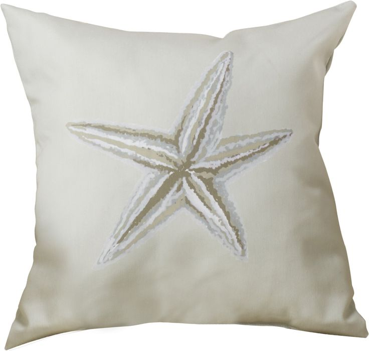 Features:  -Hypo-allergenic.  -Synthetic down.  -Sewn closure.  -Material: Woven polyester.  -Made in the USA.  Product Type: -Throw pillow.  Style: -Coastal/Traditional.  Shape: -Square.  Cover Mater