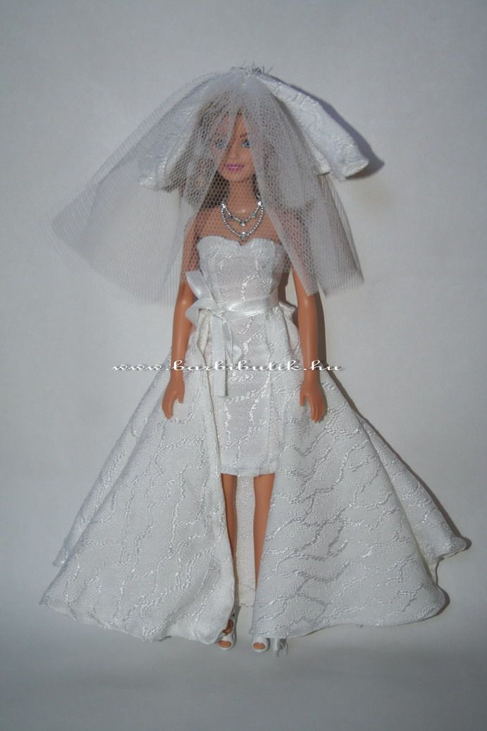 Barbie menyasszonyi ruha/ Barbie wedding dress.