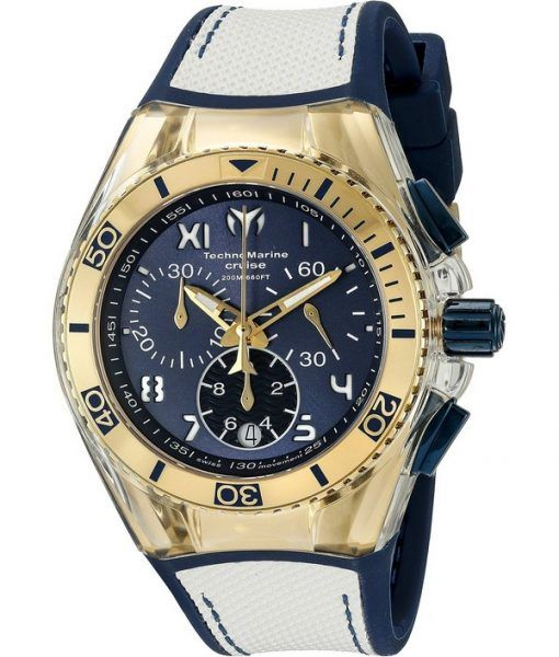TechnoMarine California Cruise Collection Chronograph TM-115018 Unisex Watch