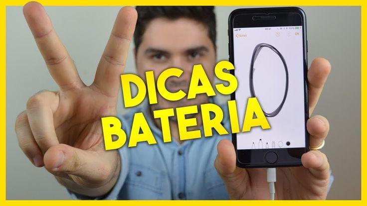 20 dicas para economizar bateria no iPhone com iOS 11 - YouTube