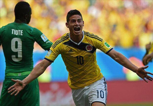 James Rodriguez so… I kind of just love everything about him! He deserves a second pin