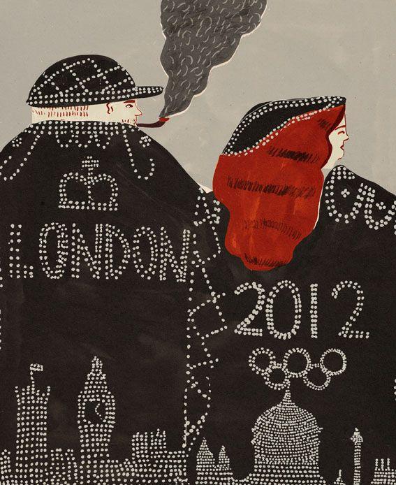 London 2012 - Naomi Wilkinson Illustration