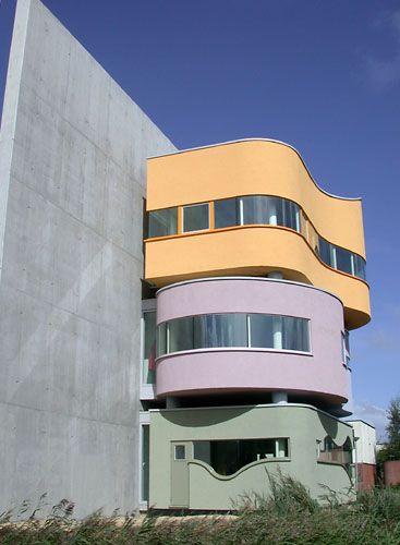 wall house/John Hejduk/ Groningen, the Netherlands