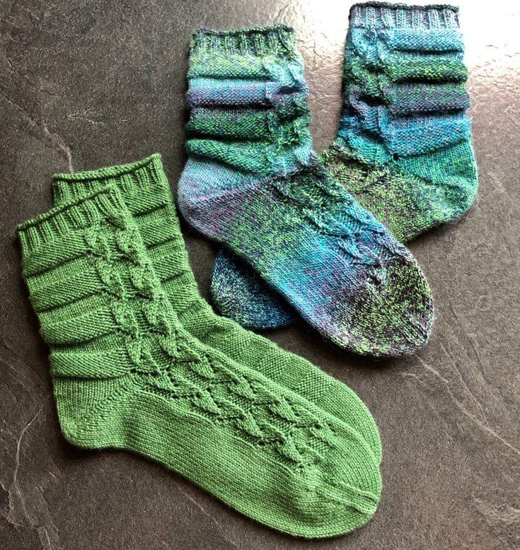 The sock top 2019 is green! – Tanja Steinbach