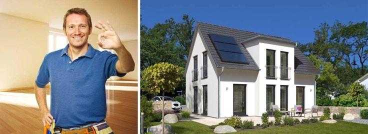 Massivhaus schlüsselfertig gebaut inklusive Hausbau-Schutzbrief - ihr schlüsselfertiges Haus von Town & Country