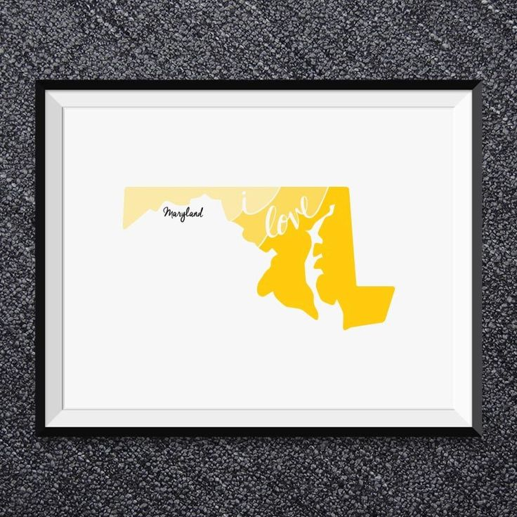 59 best State Wall Art Prints images on Pinterest   Hand drawn type ...