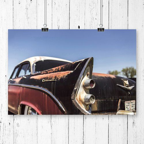 Vintage Classic Car Photographic Print Big Box Art Size: 59.4cm H x 84.1cm W
