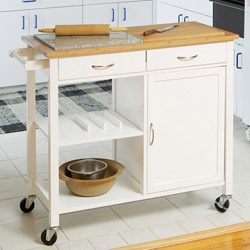 Dual surface rolling kitchen island, will be purchasing this soon hopefully!