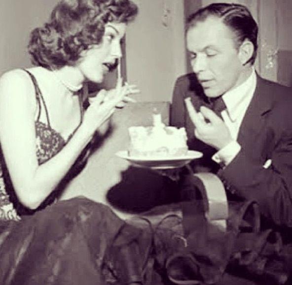 Ava Gardner an Frank Sinatra