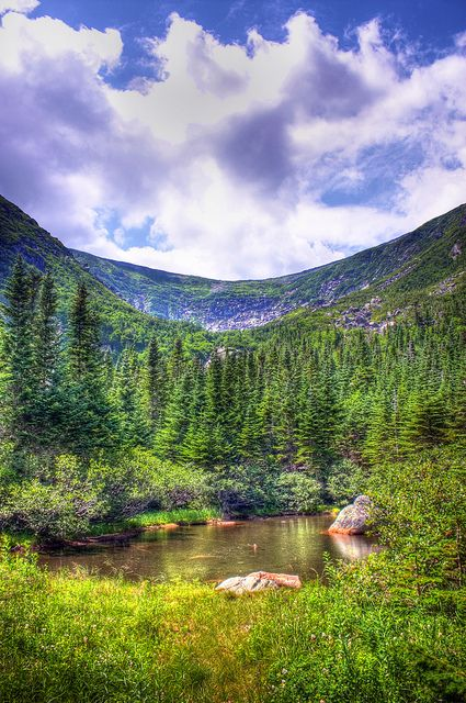 Can't wait to be hiking the Appalachian trail in August. Tuckerman Ravine, NH