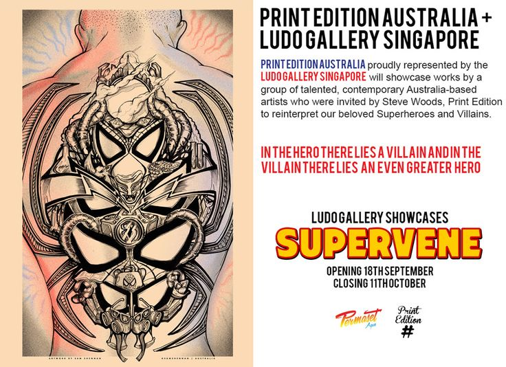 Singapore Poster Exhibition at LUDO