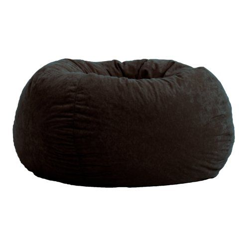 Comfort Research Classic Bean Bag in Comfort Suede, Black...