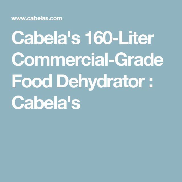 Cabela S  Liter Commercial Grade Food Dehydrator