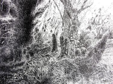 """Saatchi Art Artist Maria Westra; Drawing, """"dreamlandscape"""" #art  https://www.youtube.com/watch?v=ksLWULWKoM4"""