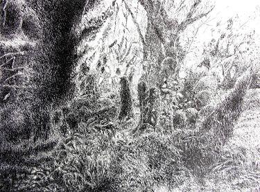 "Saatchi Art Artist Maria Westra; Drawing, ""dreamlandscape"" #art"